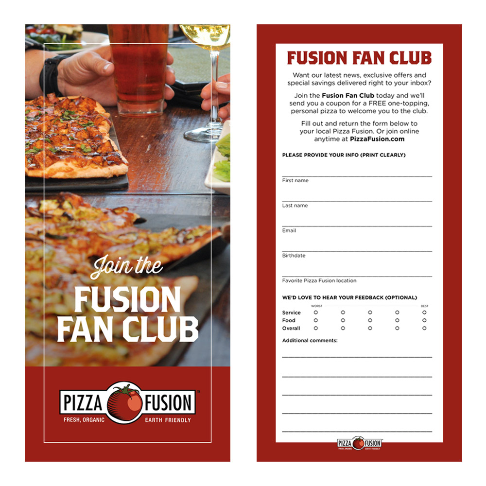 Pizza Fusion Check Presenter