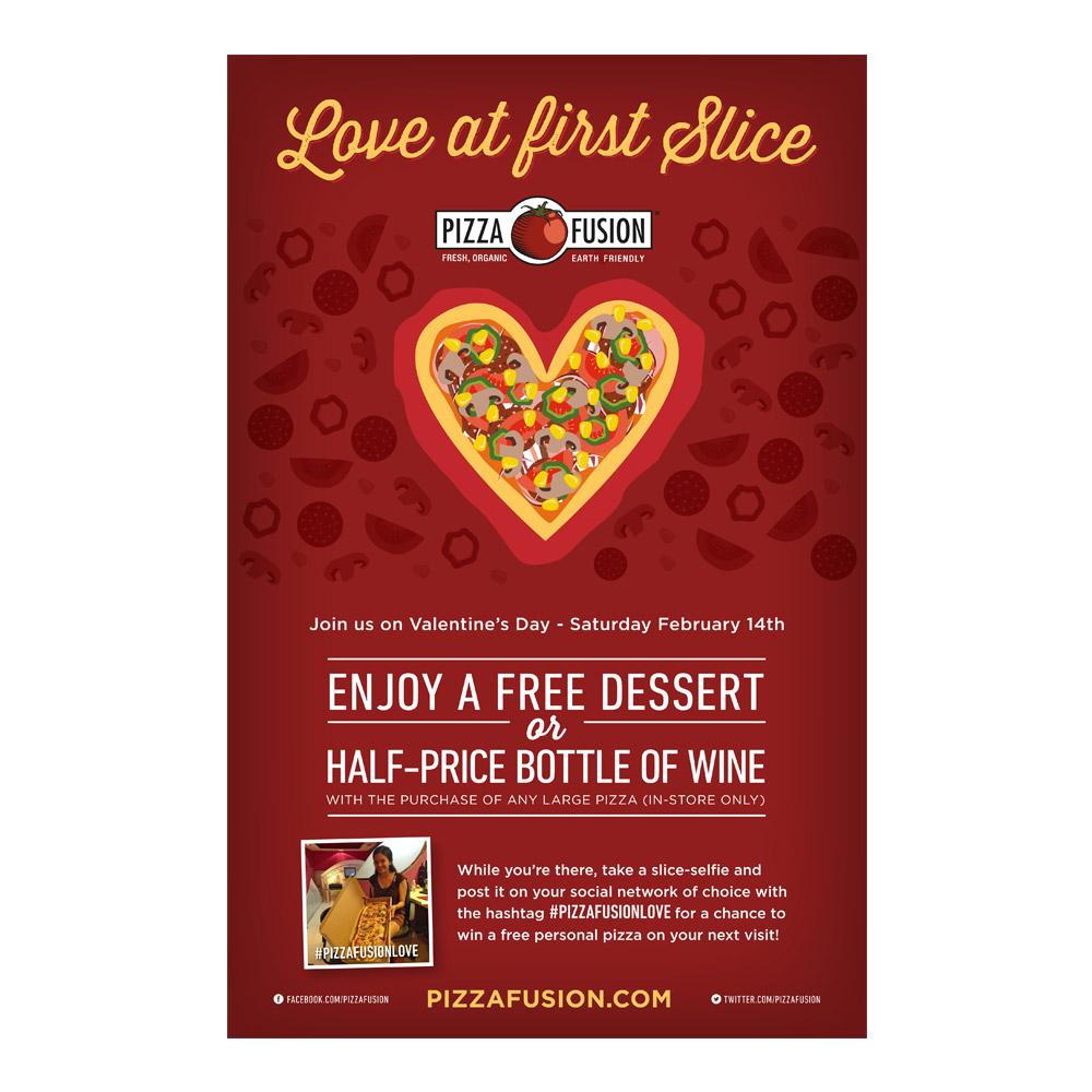 Pizza Fusion Valentine's Day Eblast