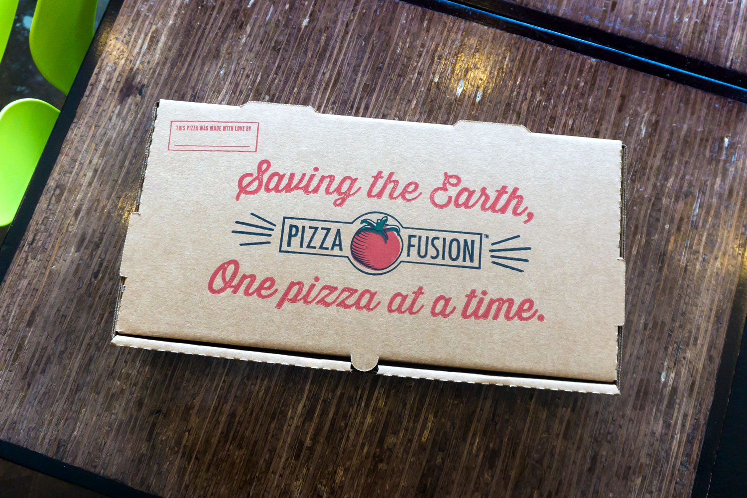 Pizza Fusion To-Go Box