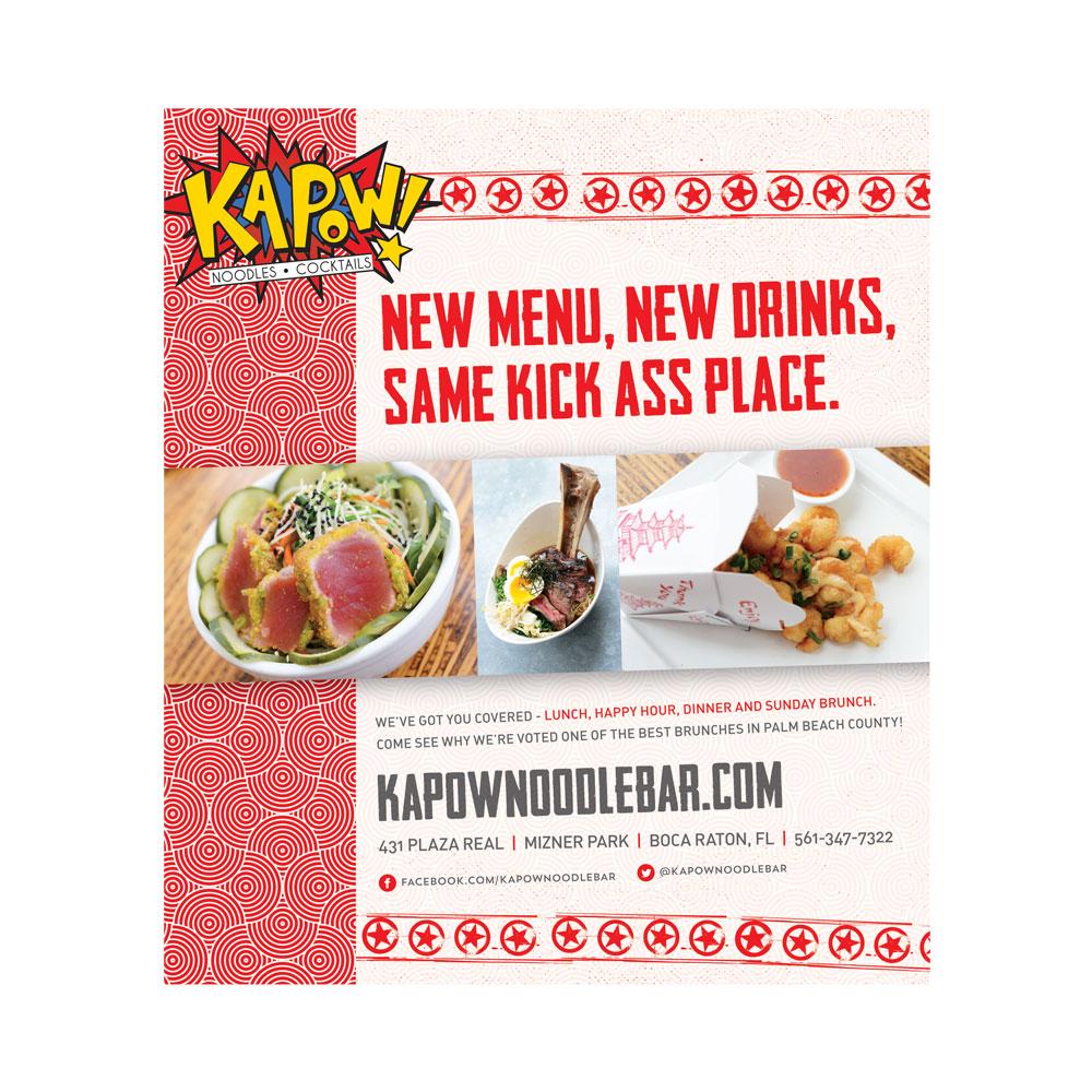 Kapow! Ad