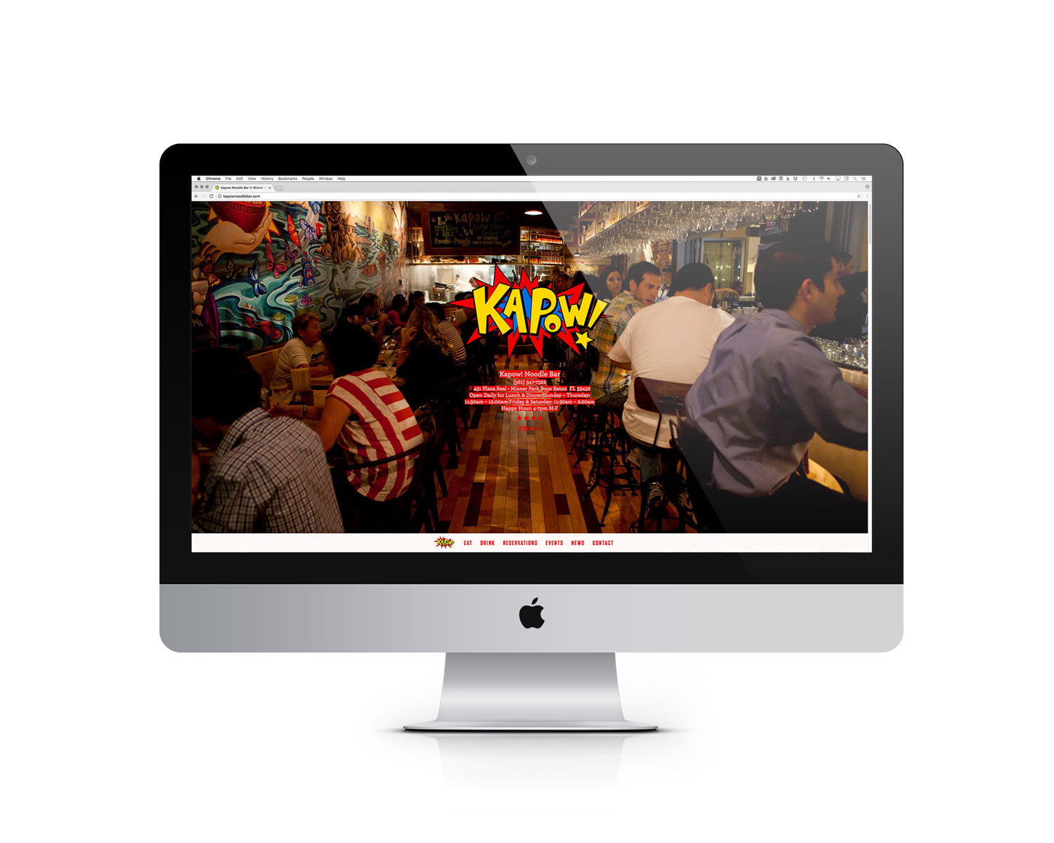 Kapow! Website