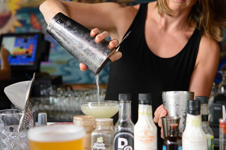 Kapow! Drink Pour