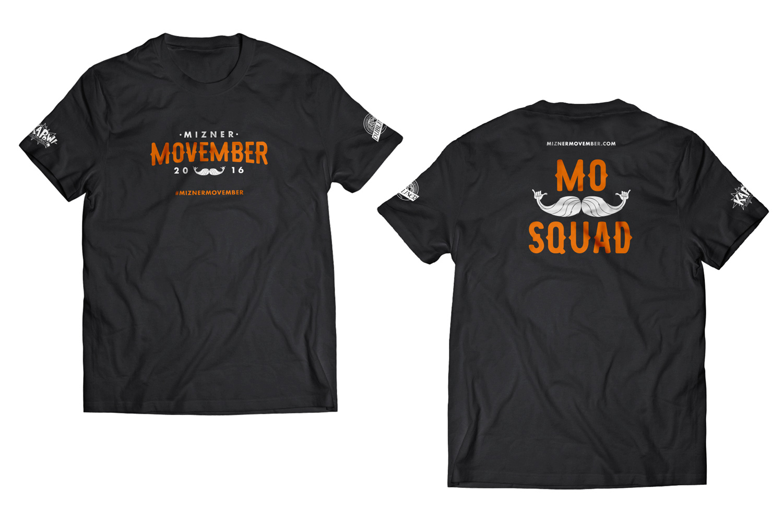 Mizner Movember Squad Shirt