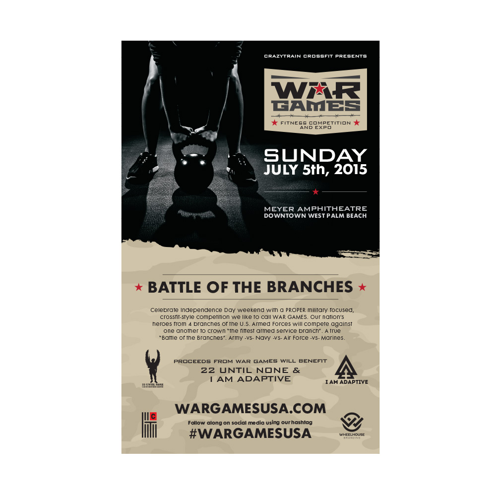War Games Flyer