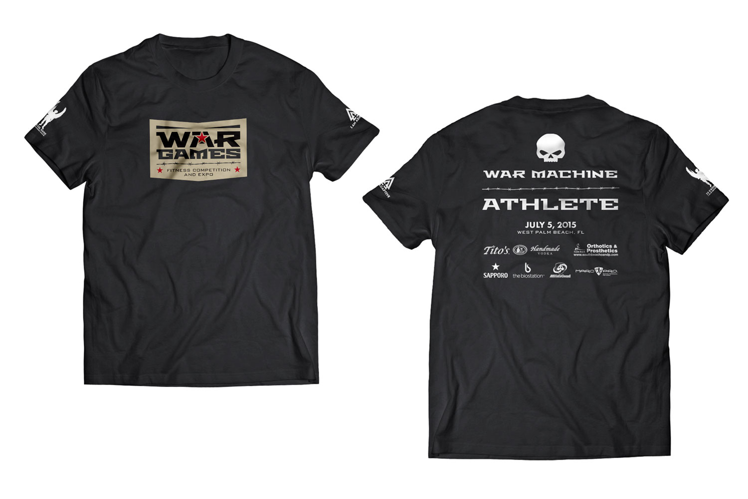 War Games Shirt - Athlete