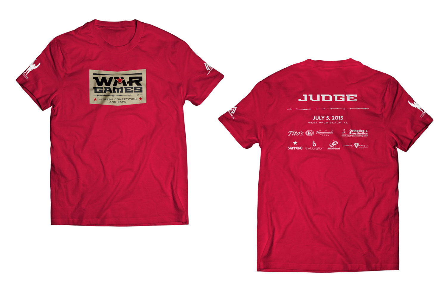 War Games Shirt - Judge