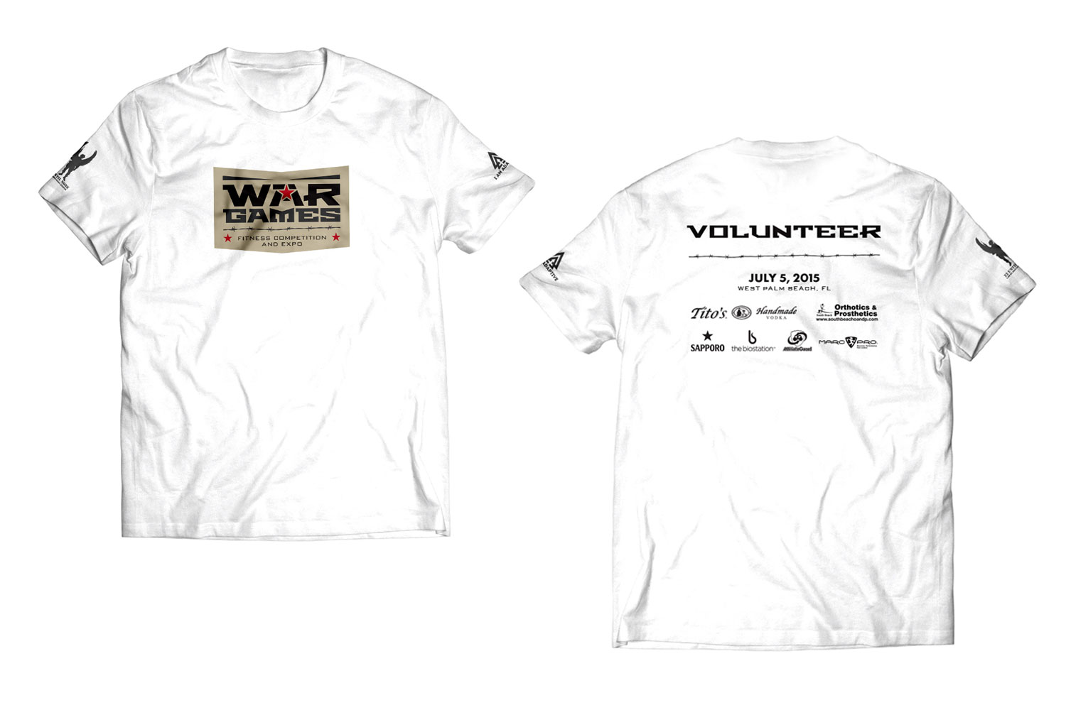 War Games Shirt - Volunteer